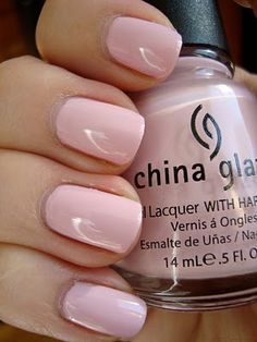 China Glaze - Something Sweet #nails #polish #color #pink