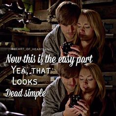 Heartland Quotes, Heartland Amy, Ty And Amy, Amber Marshall, Tv Shows, Twitter, Graham, Movies, Films