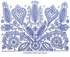 Ornament a folklor House Beautiful house beautiful bedroom ideas Chain Stitch Embroidery, Embroidery Stitches, Embroidery Patterns, Crochet Patterns, Hungarian Embroidery, Folk Embroidery, Learn Embroidery, Stitch Head, Embroidery Techniques