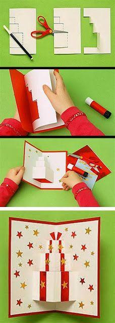 cartões criativos para o natal.