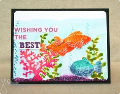 created with My Favorite Things Sea Life and BD Chalkboard Greetings   by Jenn Shurkus