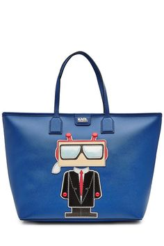 KARL LAGERFELD Faux Leather Tote. #karllagerfeld #bags #leather #hand bags #tote #