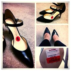 Avantika scored these Ivanka Trump heels on clearance for $29, compare at $130! #maxxinista #shoes #fashion