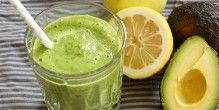 Fantastisk grøn smoothie med en frisk smag og dejlig cremet konsistens