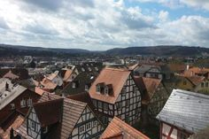 City of Marburg from above <3 It's soooooo beautiful <3