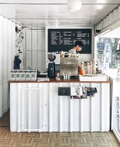 @dhiptadi discovered this gem, a coffeeshop inside a container