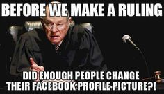 Did enough people change their facebook profile picture?