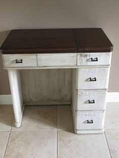 Namely Original: Sewing Table Repurposed To Desk