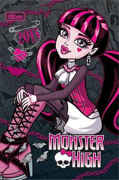 Draculaura - My favorite goul. I love her gothic style, and how she puts link into it! Monster High Barbies, Monster High School, Monster High Doll Clothes, Monster High Birthday, Monster High Party, Cartoon Monsters, Famous Monsters, Bird Drawings, Animal Drawings