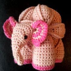 Eleanor the Elephant Puzzle1 300x300 Free Baby Elephant Crochet Pattern