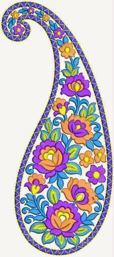 Classic Paisley Patch Paisley Art, Paisley Design, Paisley Pattern, Machine Embroidery Patterns, Hand Embroidery Designs, Hamsa, Hand Embroidery Flowers, Free Stencils, Africa Art