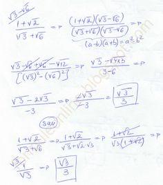 formuleonline probleme si exercitii rezolvate: Operatii cu radicali clasa a 7-a exercitiu rezolva... Science, Chemistry, Physics, Math Equations, School, Easy, Physique