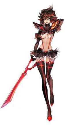 ryuko fanart (kill la kill)