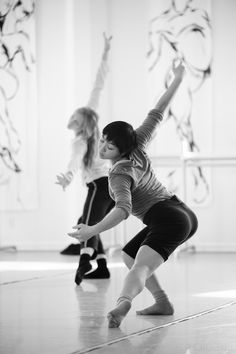 #dancer #dance #rehearsal Lindsey McGill and Ching Ching Wong - Peddecord Photo