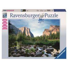 Ravensburger 1000 Piece Yosemite Valley Puzzle - 0744-0886
