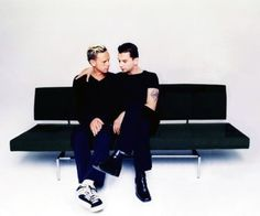 Martin Gore and Dave Gahan = Bff