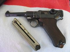 Hidden treasures of World War II - Metal Detecting Luger P08 magazine an...