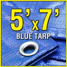 Black Friday X Blue Multi-Purpose Waterproof Poly Tarp Tarpaulin for Camping Tent Shelter Shade Canopy from Grizzly Tarps Tarp Shade, Shade Canopy, Backpacking Tent, Tent Camping, Camping Ideas, Glamping, Waterproof Tarp, Camping Shelters, Rv Parts And Accessories