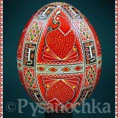 Ukrainian Pysanky Egg by Pysanochka