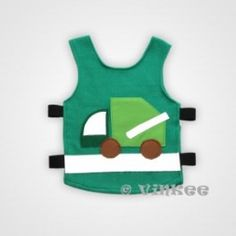 Vinkee reflecterende vest Garbage Truck Garbage Truck, My Precious, Cool Kids, Vest, Trucks, Cool Stuff, Clothes, Outfits, Clothing