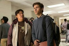 'Ned Leeds' and 'Peter Parker'/'Spider-Man' in 'Spider-Man: Homecoming' (2017)