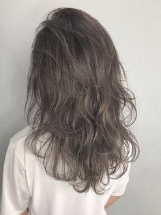 Long Shag Haircut, Haircuts For Long Hair, Cut My Hair, Hair Cuts, Korean Hair Color, Japanese Hair Color, Medium Hair Styles, Curly Hair Styles, Beige Hair