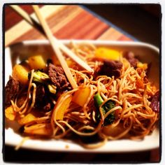 Spicy deer meat stirfry