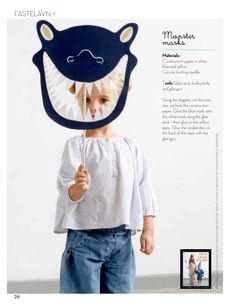 DIY Monster Mask - things to make with Caleb Kids Crafts, Projects For Kids, Diy For Kids, Cool Kids, Art Projects, Little People, Little Ones, Make Your Own Monster, Monster Mask