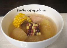 The Chinese Soup Lady & Chinese Soup Recipes » Blog Archive » Apple and Corn in Chicken Soup