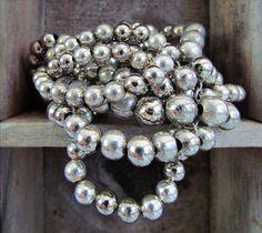 Metal beads decorate your wrist with this multi-strand bracelet from Paris. Strand Bracelet, Metal Beads, Paris, Bracelets, Jewelry, Style, Fashion, Swag, Moda