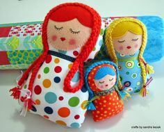 Cute Dolls: Matrioskas