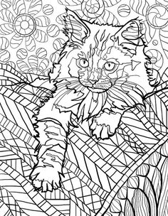 Dog Coloring Page Pages For Grown Ups Doodle Adult Books Cat Colors 2 Colours Pictures To Draw