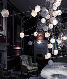 BOCCI Lighting Installation at London Design Festival 2014.