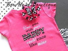 If we have a girl, I have to get this in red! It will match Chris's racecar and she can wear it to the track! So cute :)