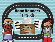 Road Readers Freebie.  Try phoneme segmentation activities that use toy cars!