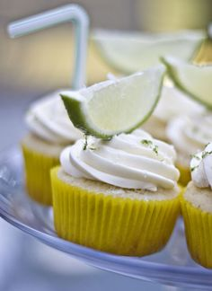 Margarita Cupcakes....perfect for summer BBQ