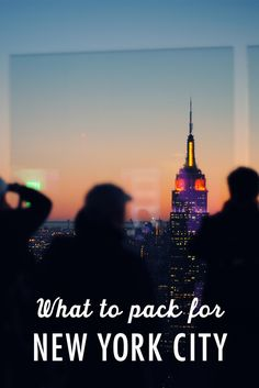 Here's a tip: you will never be prepared for New York City. So stop trying to pack for every possible scenario. It won't work. Here are a few essentials and insider tips you'll need year-round.