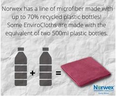 Recycled Bottles, Recycle Plastic Bottles, Norwex Party, Norwex Consultant, Reuse, Recycling, Cleaning, Green, Ideas