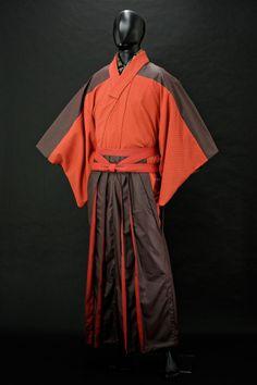 「和次元 滴や」夜会コーディネート:ユア・アイズ・オンリー Men's Kimono