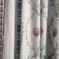 Coral & Tusk curtains fall/winter collection Coral And Tusk, Textile Fabrics, Winter Collection, Needlepoint, Stitching, Random Stuff, Applique, Household, Creativity
