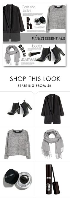 """""""#winteressentials"""" by miryoserra ❤ liked on Polyvore featuring SWEET MANGO, H&M, MANGO, maurices and Bobbi Brown Cosmetics"""