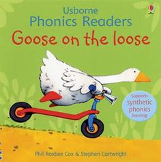 "One of the original books in the Usborne Phonics Readers Series,""Goose on the Loose,"" is still available as a separate title as well as included in ""Ted and Friends,"" the combined volume of the first twelve phonics books published and illustrated by Stephen Cartwright."