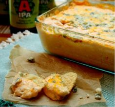 Beer cheese buffalo chicken dip - HowToInstructions.Us