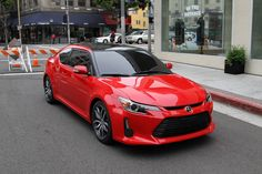 Image result for red scion tc