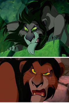 Yeah he's a lion 😂😂😂😂like yeah he's a lion but he's also a l i o n 😂😂😂😂 Best Villains, Evil Villains, Disney Villains, Disney Movies, Scar Lion King, Lion King Simba's Pride, Lion King Fan Art, Disney Nerd, Cute Disney