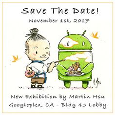 Martin Hsu Art: Google Android Exhibition by Martin Hsu
