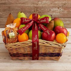 This simply fresh and delicious fruit basket features the best varietals available (chosen on the day we pack your gift).  Like sweet mango, crisp-tart Granny Smith apples and juicy mandarins plus an exotic mix of dried Mediterranean apricots and Angelino plums.