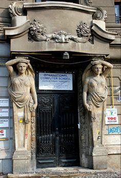 Door with Cariatides