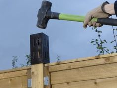 Using post extenders to add trellis to a fence. How to fit the extenders to create an ideal structure for supporting plants and creating greater privacy. Trellis Panels, Trellis Fence, Lattice Fence, Garden Trellis, Trellis Ideas, Garden Edging, Privacy Fence Designs, Privacy Fences, Fencing