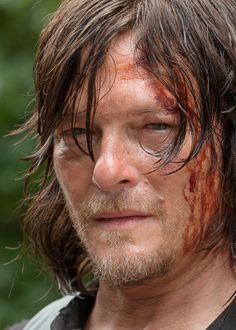 """dailytwdcast: """" Norman Reedus as Daryl Dixon in The Walking Dead Seaon 6 Episode 9 